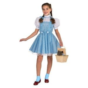 The wizard of oz Dorothy girl costume 12-14 new